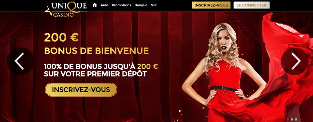 Unique Casino Incentive